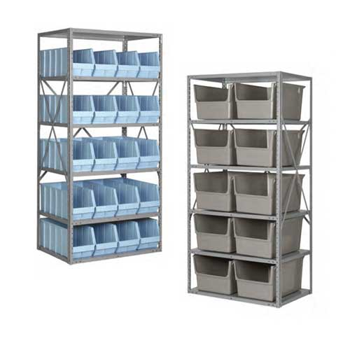 Lewis Metal Shelving Units