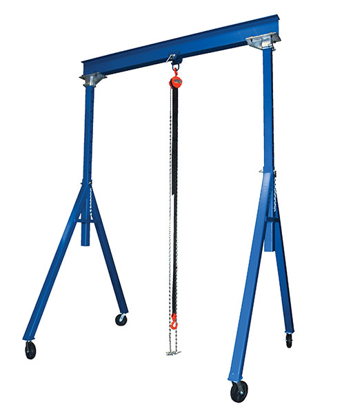 Adjustable Height Gantry Cranes