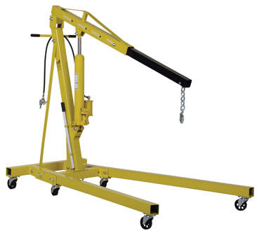 Hand Pump Hydraulic Shop Crane