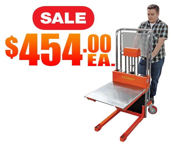 Manual Pallet Stackers Sale