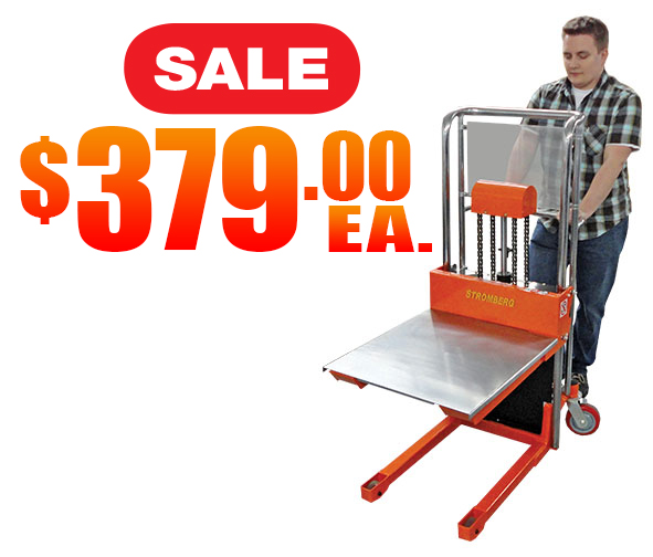 Manual Pallet Stacker Sale