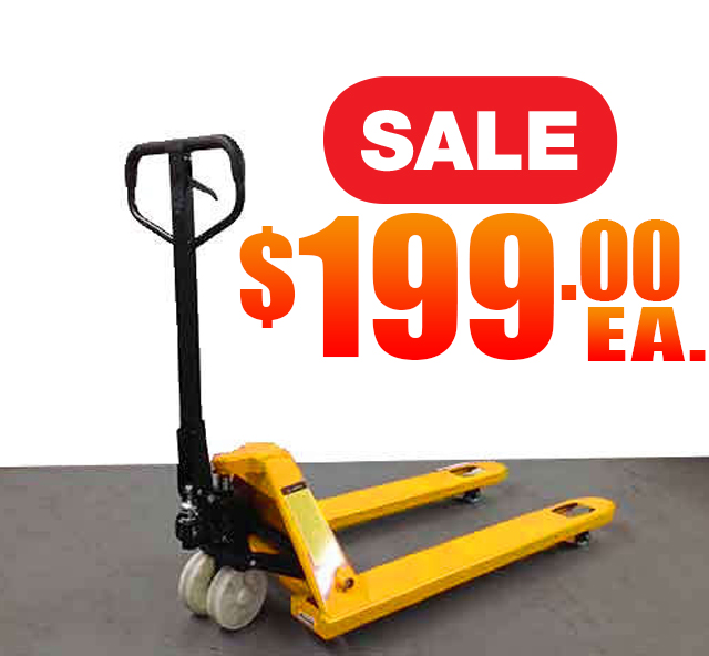 Pallet Jacks with Nylon Wheels
