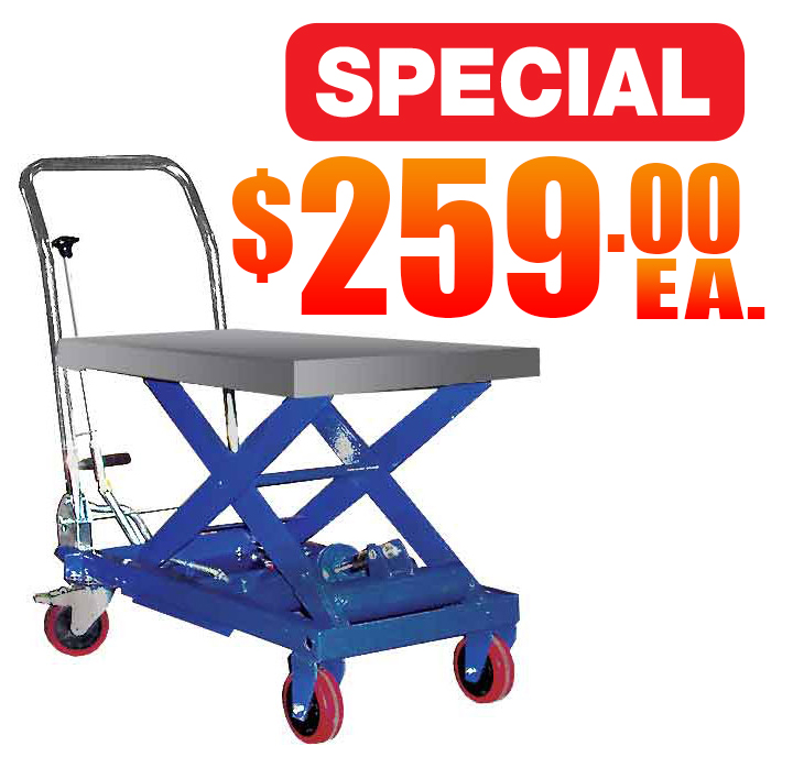 Hydraulic Elevating Carts Sale