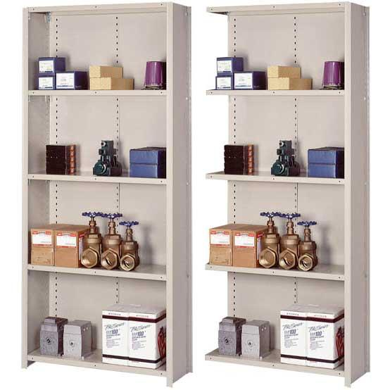 Tennsco Closed Style Shelving