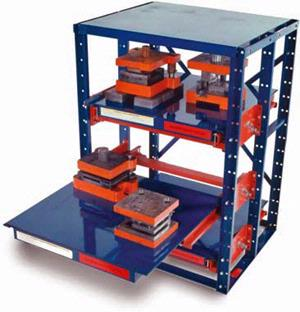 Jarke EZ-Glide Roll-Out Shelving