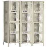 Expanded Metal Lockers