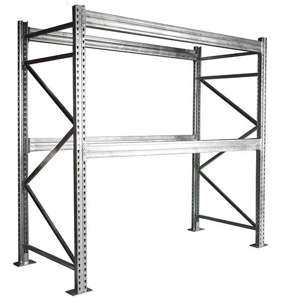 Galvanized Steel Pallet Racking