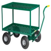 Little Giant 2-Shelf Wagon Truck w/Perforated Deck