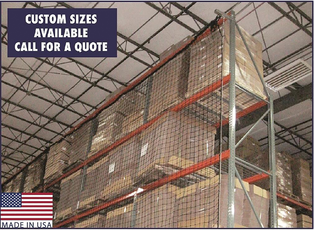 Pallet Rack Guard Nets