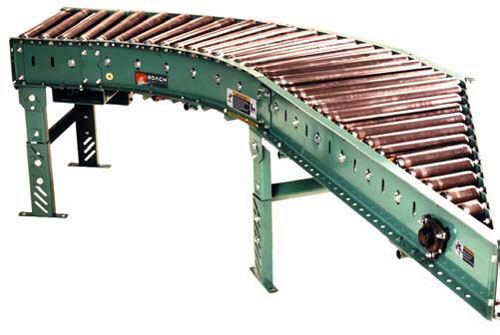 Roach Belt Driven Live Roller Conveyors