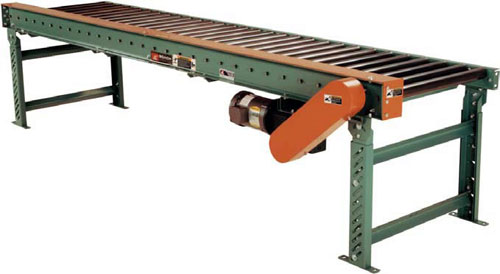 Roach Chain Driven Live Roller Conveyors