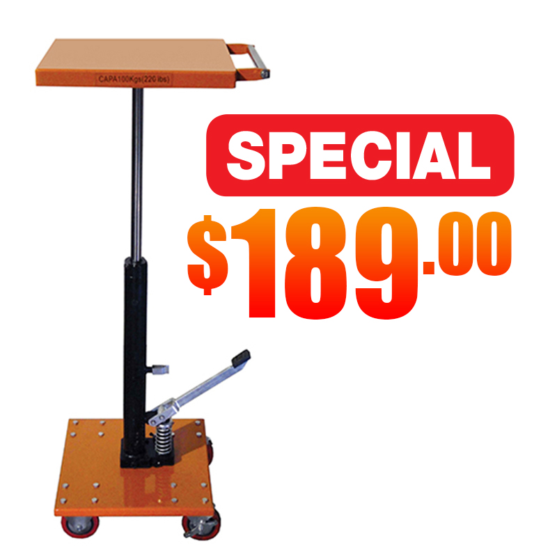 227 Hydraulic Post Lift Table Sale