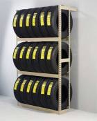 Tennsco Tire Rack