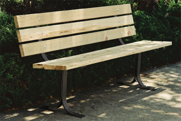 Wooden Benches Leisure Craft