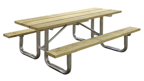 Leisure Craft Wooden Picnic Tables