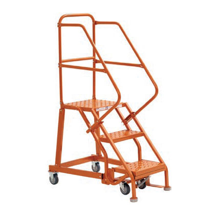 Heavy Duty Steel Warehouse Ladders