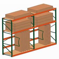 Plywood Racking Shelving