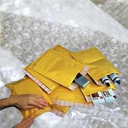 Mailing Containers And Bubble Wrap