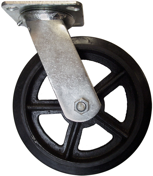 Mold-On Rubber Casters