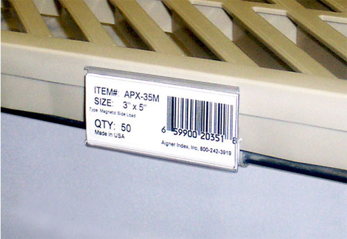 Wire-Rac Max Aigner Label Holders